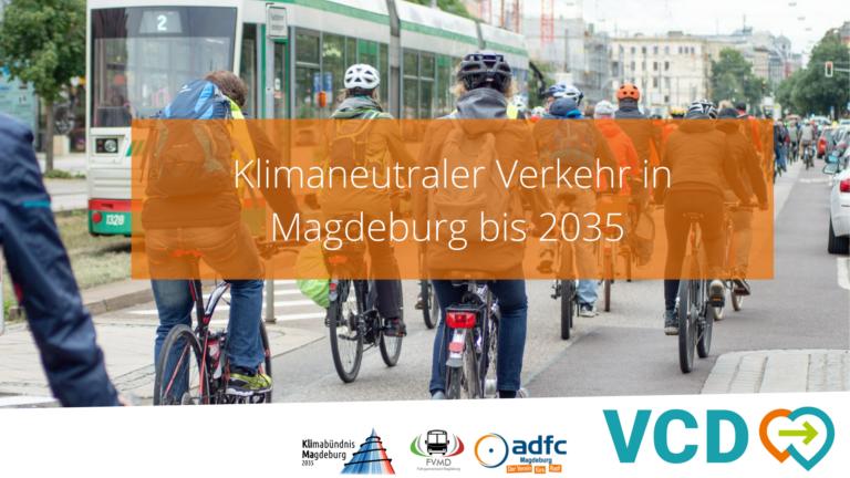 """Titelbild der Studie """"CO2-neutraler Verkehr MD 2035"""""""