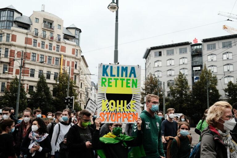 """""""Klima retten - Kohle stoppen"""""""